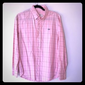 Thomas Burberry Men's 100% cotton shirt size L